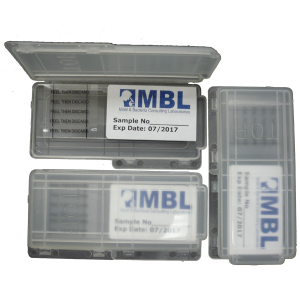 visible black mold testkit
